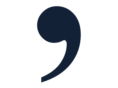 big comma