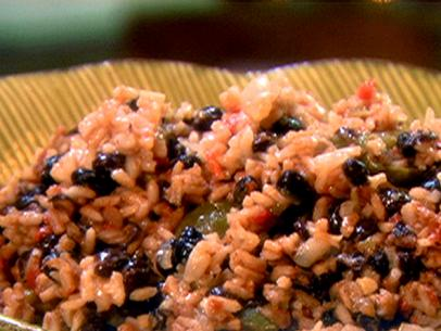 mmmmm. black beans and rice.