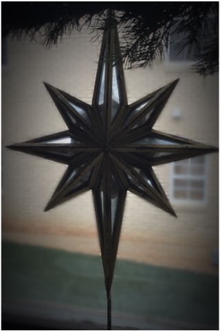 Heavy star tree topper