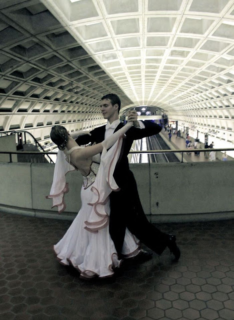 ballroom dancing at the metro