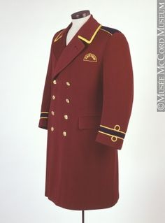 red bellman's coat