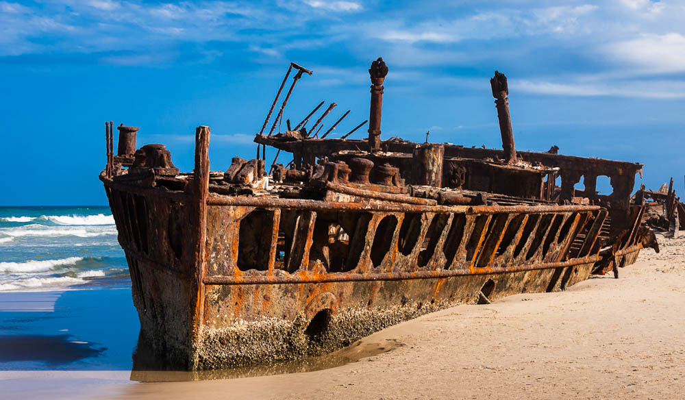 shipwreck in Australia