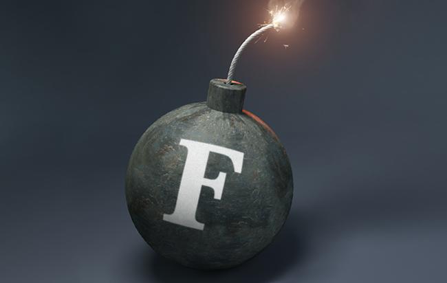 An F-bomb