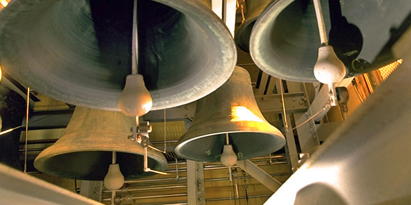 carillon bells. They are very big. And loud.