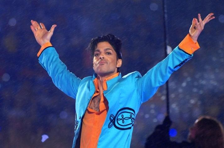 Prince, summoning the purple reign.
