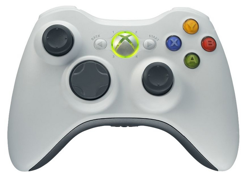 An xBox controller with an array of confusing buttons. WTH?