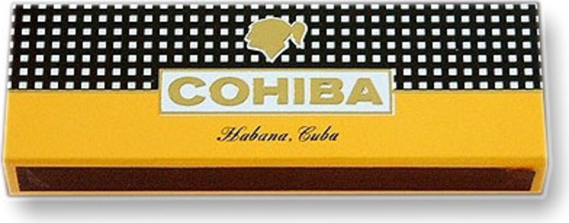 An attractive box of imported cigar matches. From Cuba.