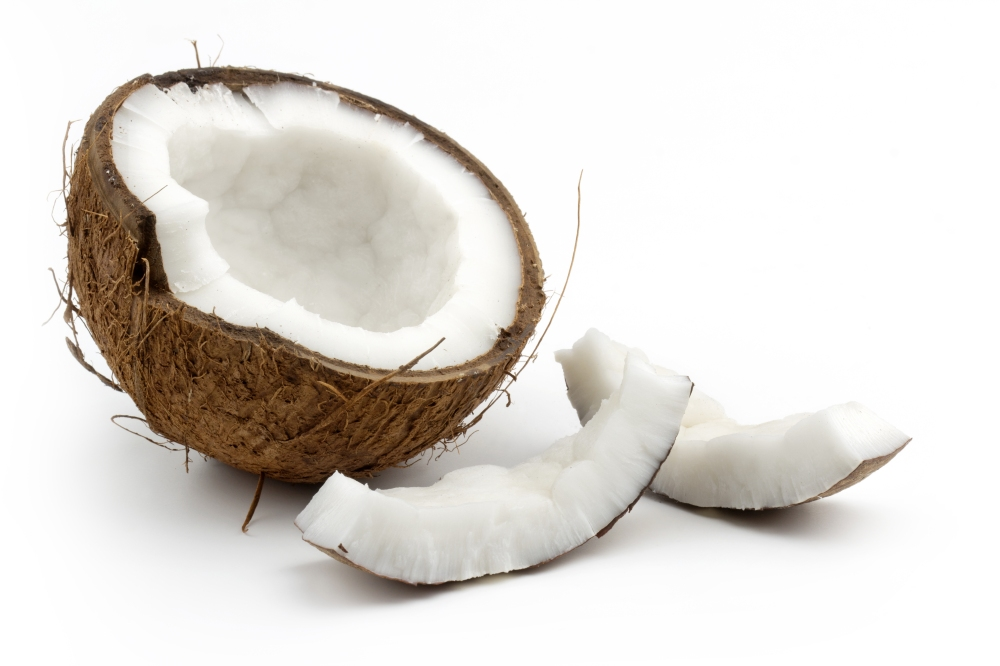 A split coconut. That is all.