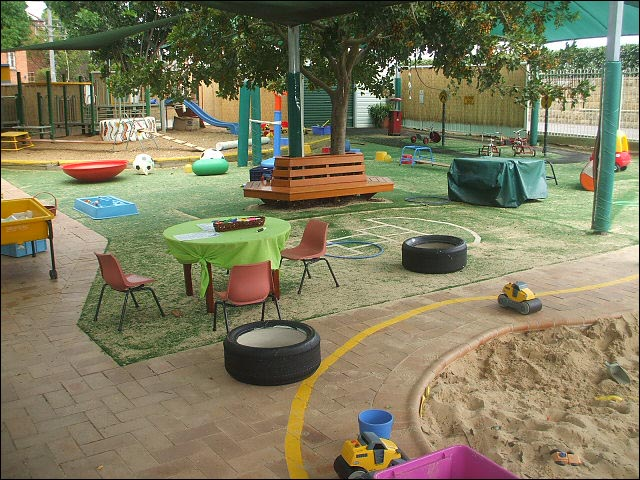A school playground that looks inviting. And fun.